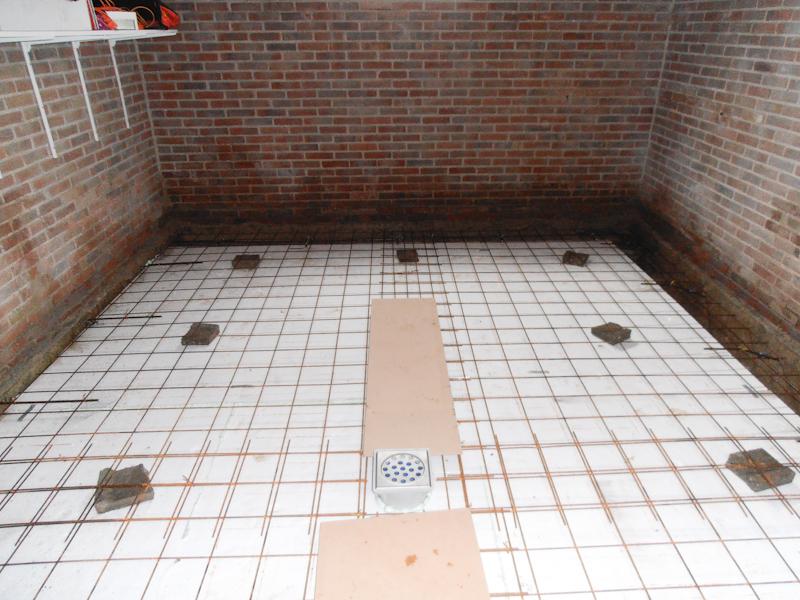 Klustotaal warande te marknesse deel 1 for Vijverfolie lijmen op beton